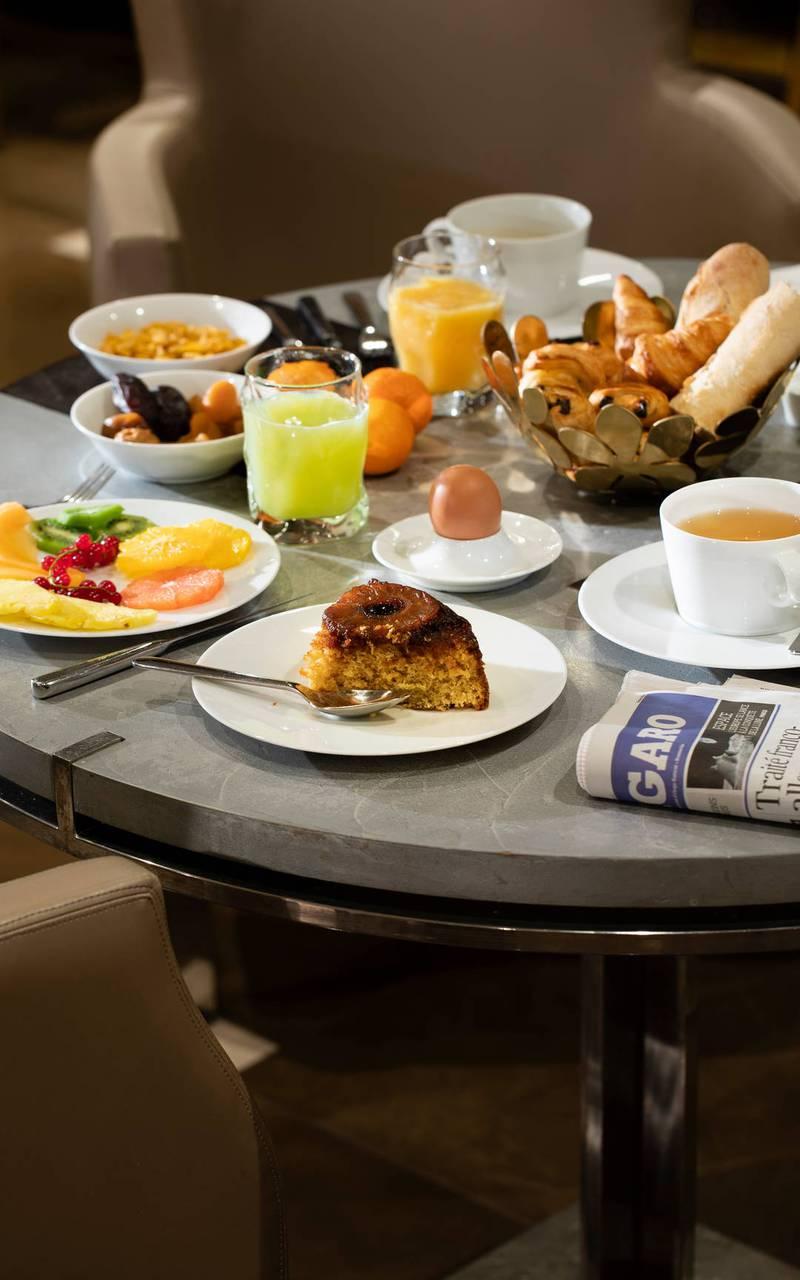 Petit-déjeuner, hôtel Paris 7 ème arrondissement, Juliana Hôtel Paris